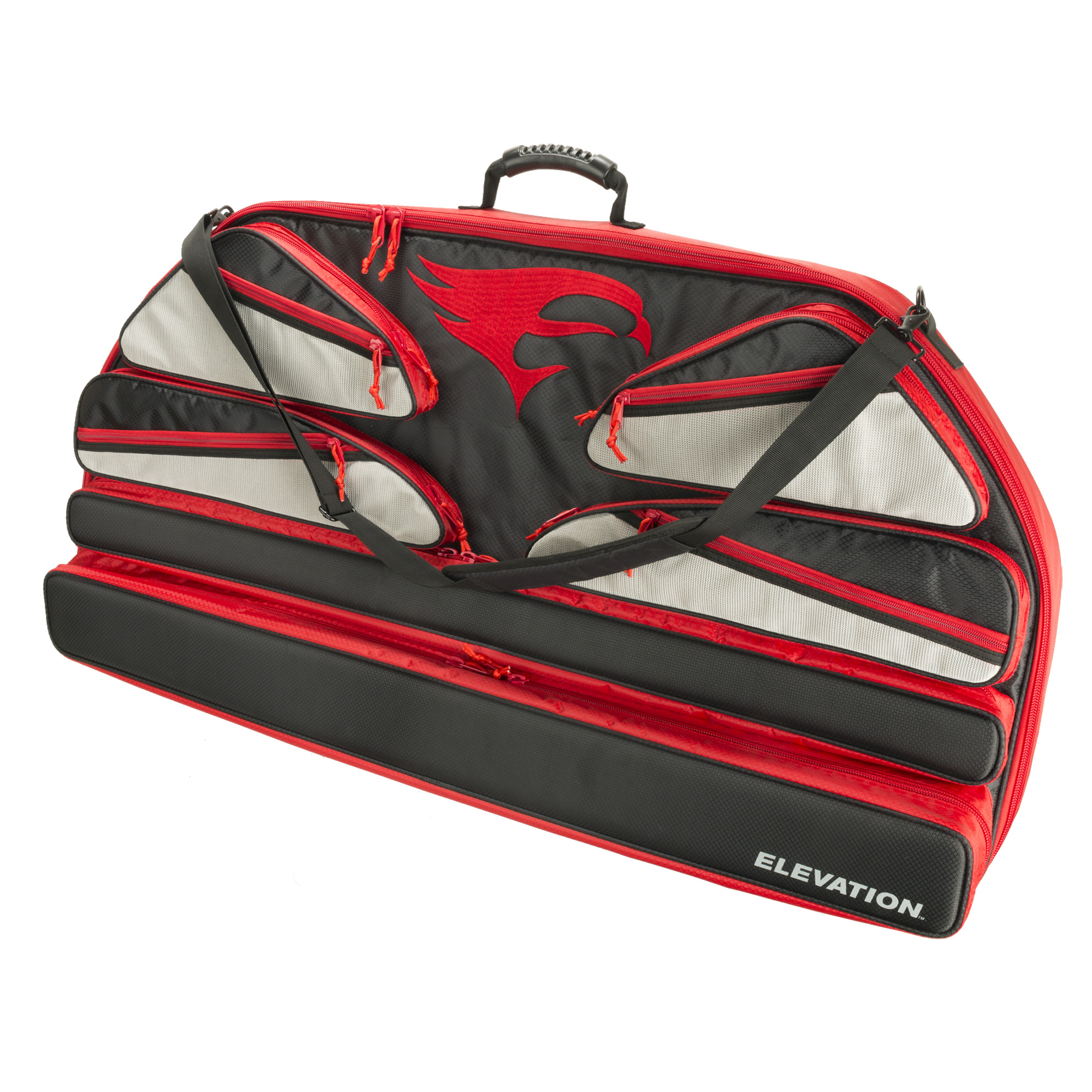 Altitude Bow Case — Black/Red