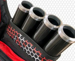 Aluminum/Carbon-Capped Tubes