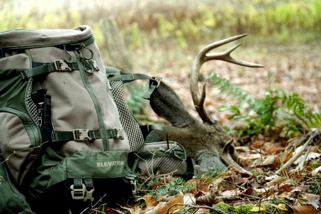 Elevation HUNT Pack, Hunting Backpack, Hunting Pack with Deer, Elevation HUNT pack in the field